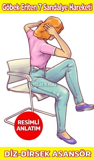 Sandalyede Göbek Eritme Hareketleri 6