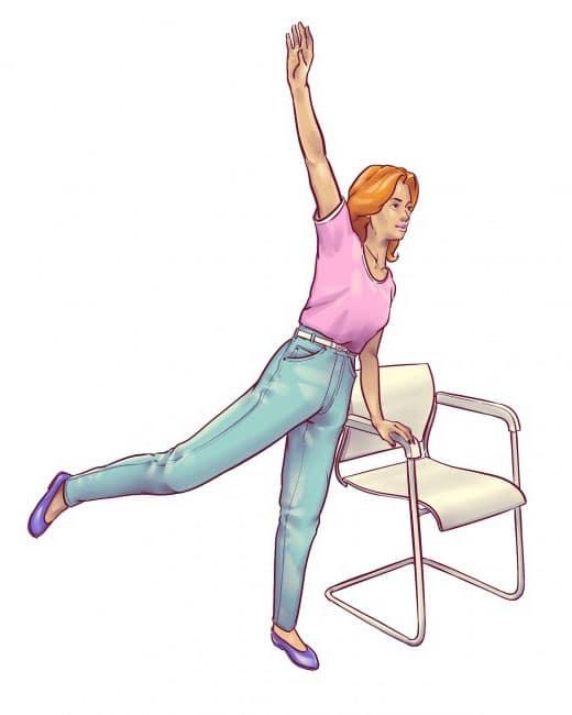 Sandalyede kas güçlendirme
