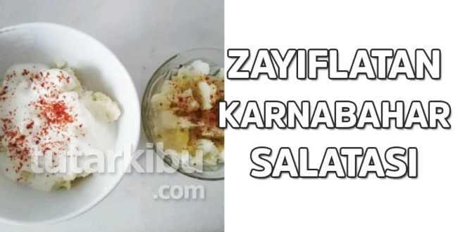 Karnabahar Salatası ile Zayıflama
