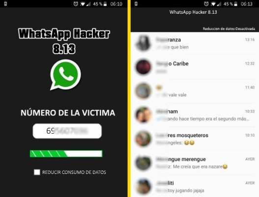 espiar chat de whatsapp