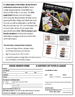 Tutelo History Book Order Form