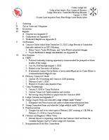 2016_01 Tutelo Lodge Meeting Minutes