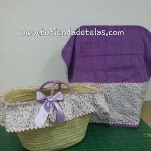 Conjunto cesta y Toalla para playa
