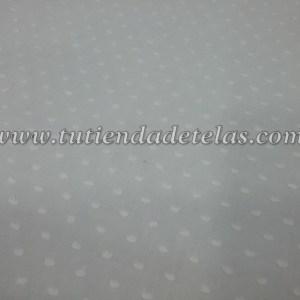 Batista plumeti blanco roto / marfil