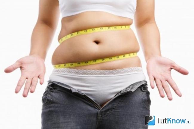 Что уходит в первую очередь при похудении