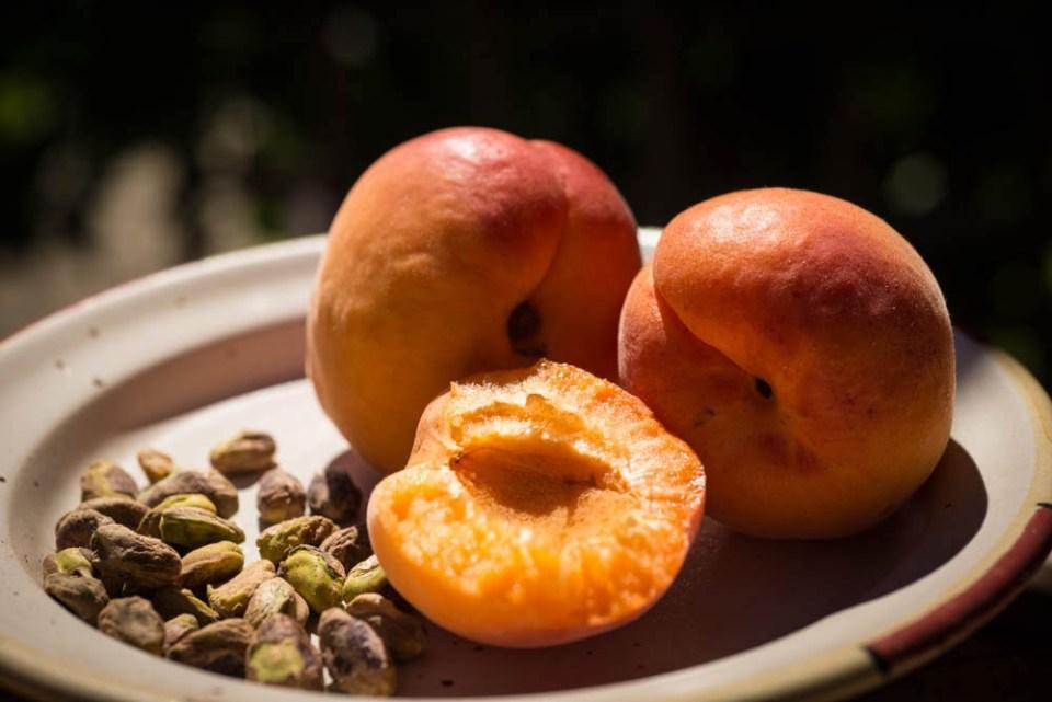 abricots pistaches