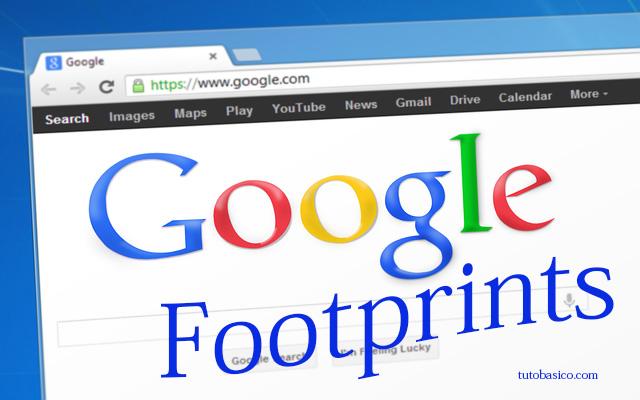 Footprints de Google  Comandos de búsqueda avanzada