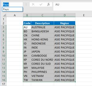 Excel erreur référence formule nom plage cellule