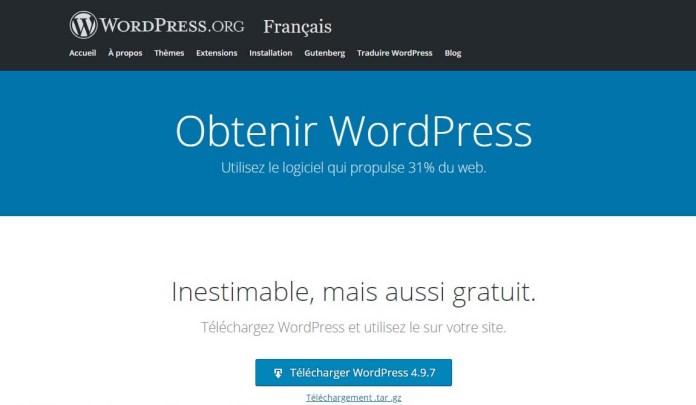 Telecharger WordPress