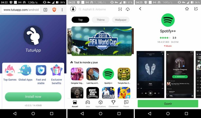 Comment avoir spotify premium gratuit sur android