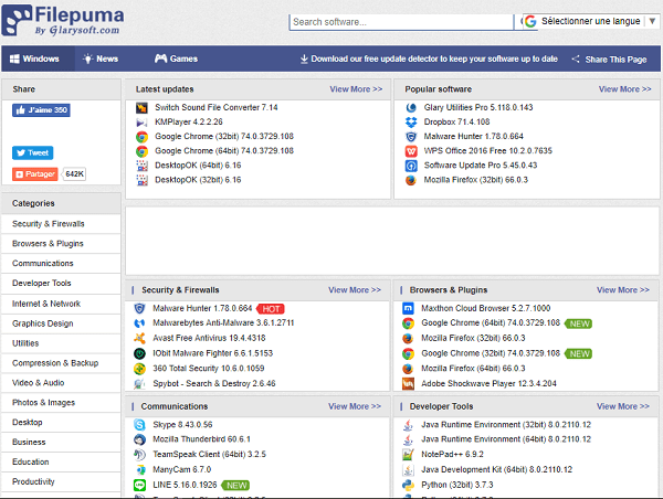 logiciel puma