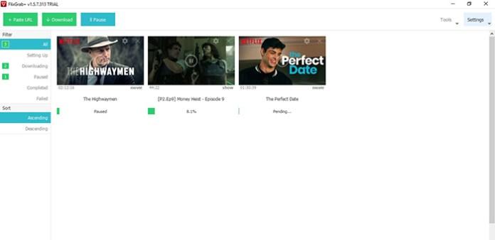 Comment Télécharger Les Vidéos Netflix Sur PC Et Android ? – FlixGrab+ Flixgrabplus-downloading-1