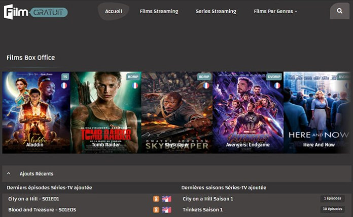 Le site de streaming gratuit FilmGratuit !