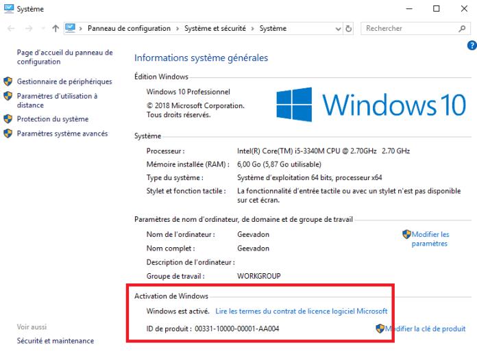 Vérifiez si votre Windows est désormais activé !