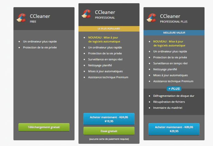 Télécharger CCleaner Pro Gratuitement + Clé de Licence Gratuite