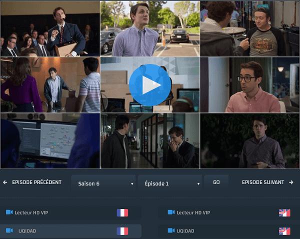 Cliquez sur Play pour visionner Silicon Valley saison 6