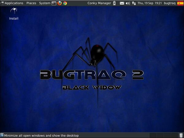BugTraq - système d'exploitation pour hacker