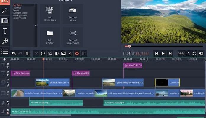 Télécharger Movavi Video Editor Crack Gratuit