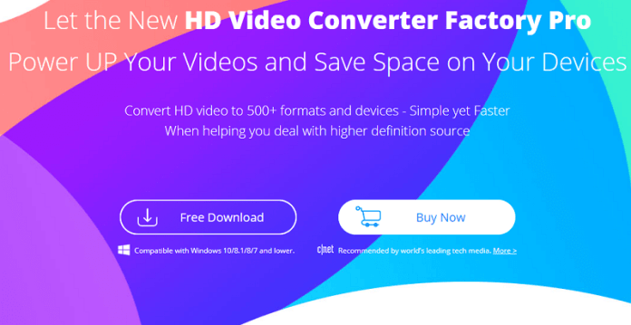 Telecharger HD Video Converter Factory Pro