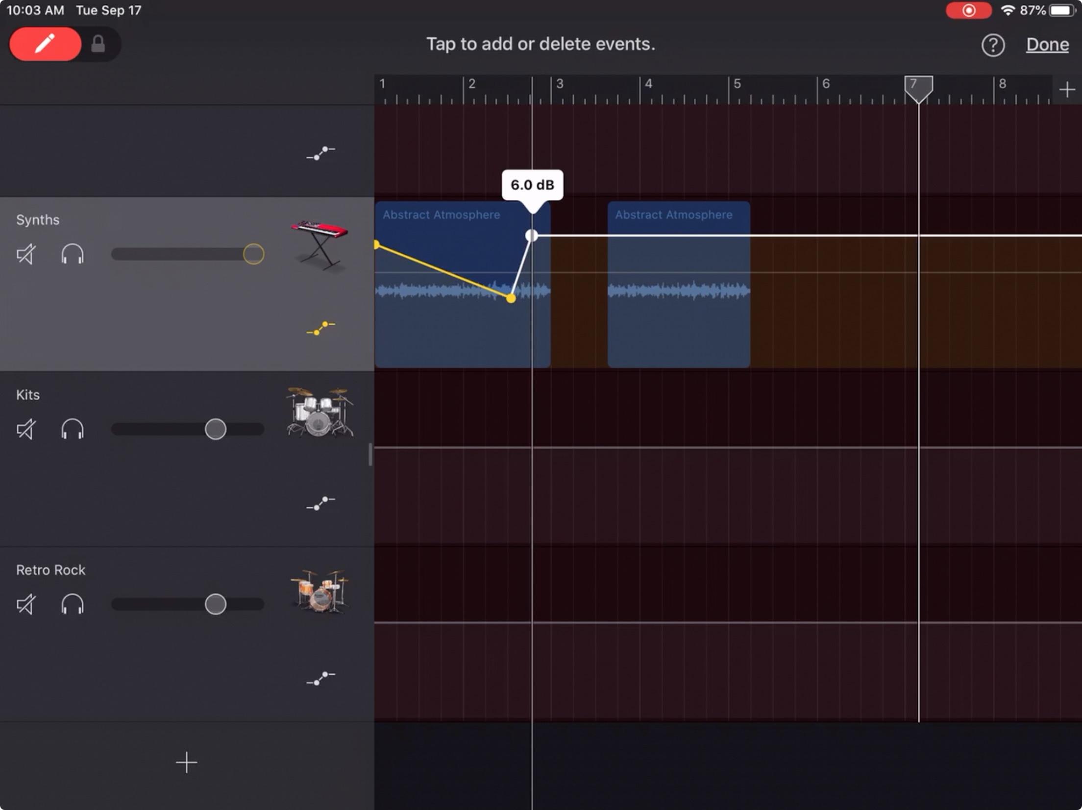 Cara Menyesuaikan Volume Lagu Di Garageband Di Mac Dan Ios