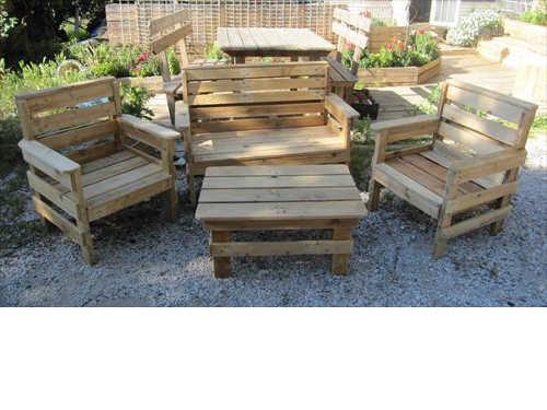 Meuble Jardin Palette Tuto | Fabriquer Un Bateau En Bois ...