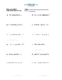 Worksheet: Percent Problems - Finding Percentages with ...