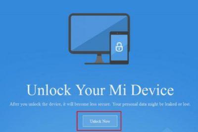 Cara Mudah Unlock Bootloader Xiaomi