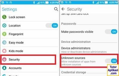 Cara Unlock Bootloader Asus