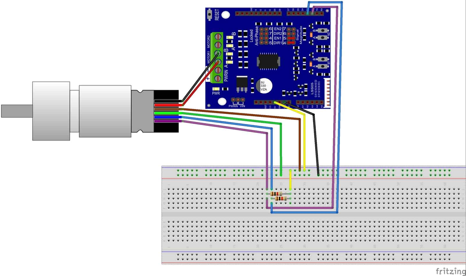 hight resolution of encoder