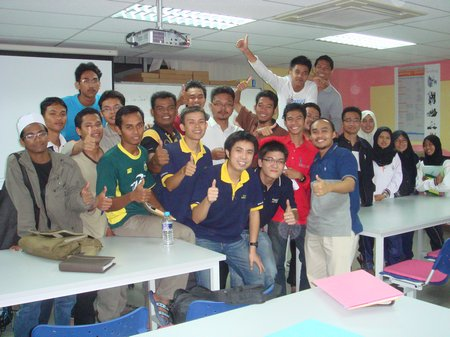 ROBOCON Workshop at KKTM Balik Pulau, Penang