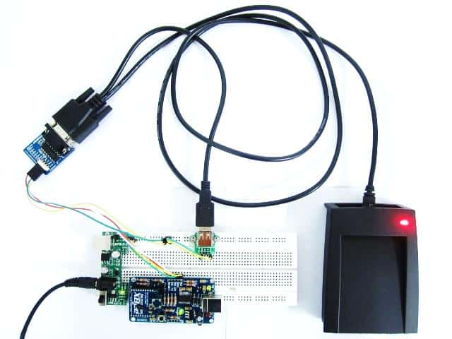 Wireless RFID Reader Using XBees