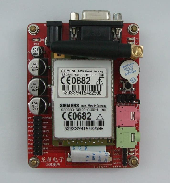 SIEMENS TC35 GSM Development Board, GSM-TC35