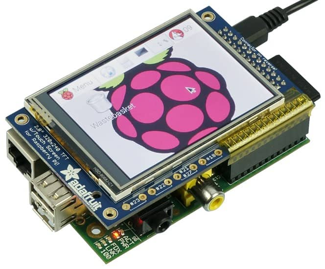 Getting Started with 320 x 240 TFT Touchscreen Module