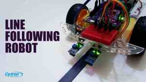 Line Following Robot Using Arduino and Maker Drive