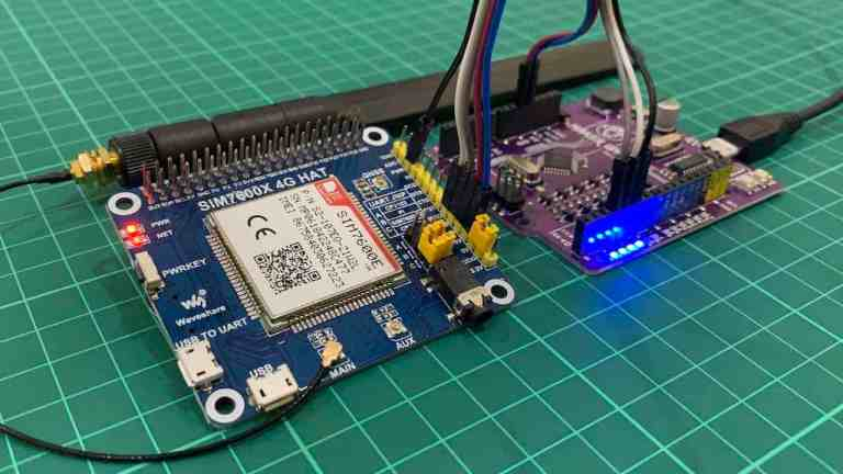 Send and Receive SMS Using SIM7600 GSM Module and Arduino