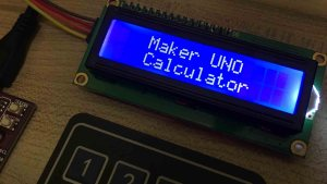 Calculator Using I2C LCD and 4×4 Keypad on Arduino