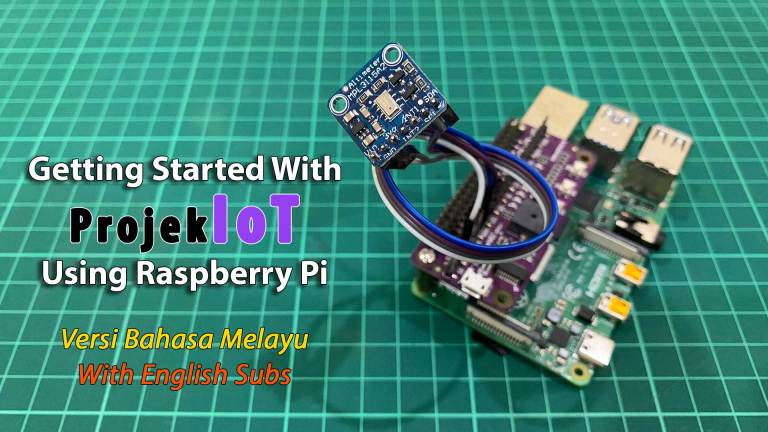 Getting Started With ProjekIoT.com Using Raspberry Pi