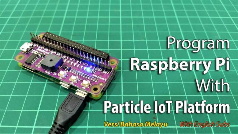 Program Raspberry Pi With Particle IoT Platform