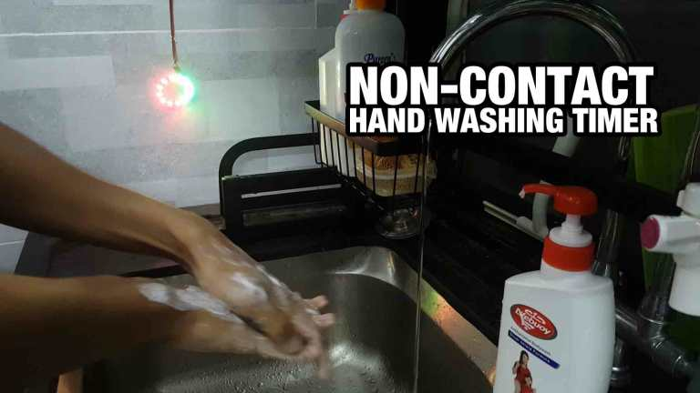Non-Contact Hand Washing Timer Using Maker UNO