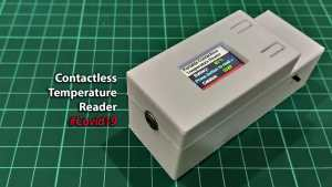 Build Your Own Portable Contactless Temperature Reader
