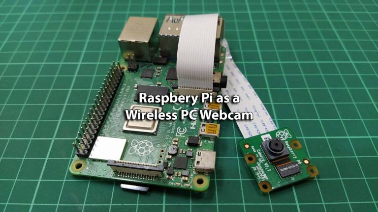 Set Your Raspberry Pi as a Wireless PC Webcam