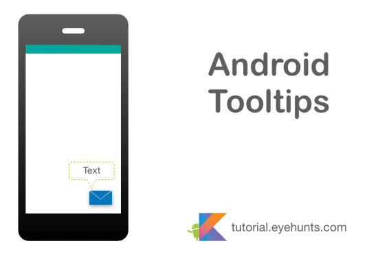 Android Tooltips - Us Interface example in Kotlin
