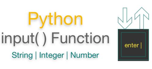 Python input function | Input String | Input Integer (Number)