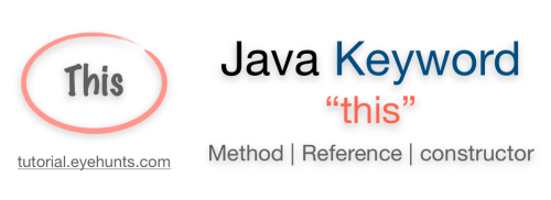 This keyword in Java