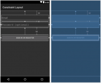Android Constraint Layout example