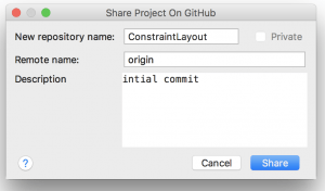 initial commit android studio