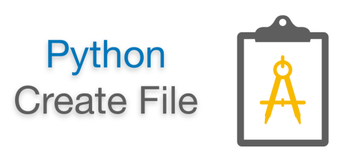 Python Create File (Empty Text File) | Create file if not exist