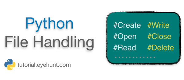 Python File Handling Introduction | Create, Write, Read, Delete