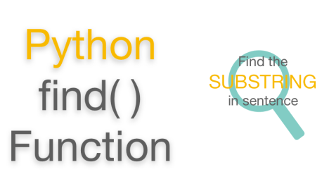 Python String Find() function | Examples