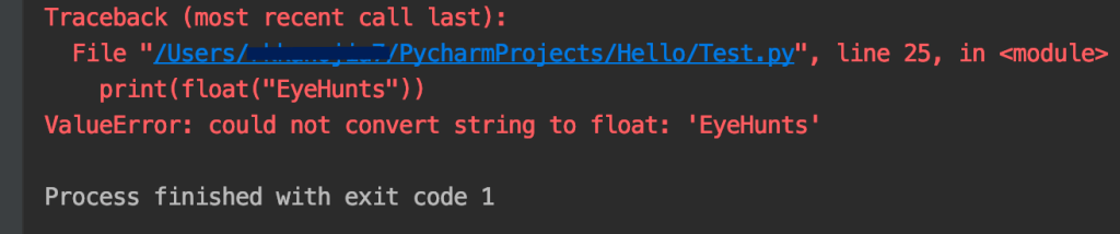 could not convert string to float